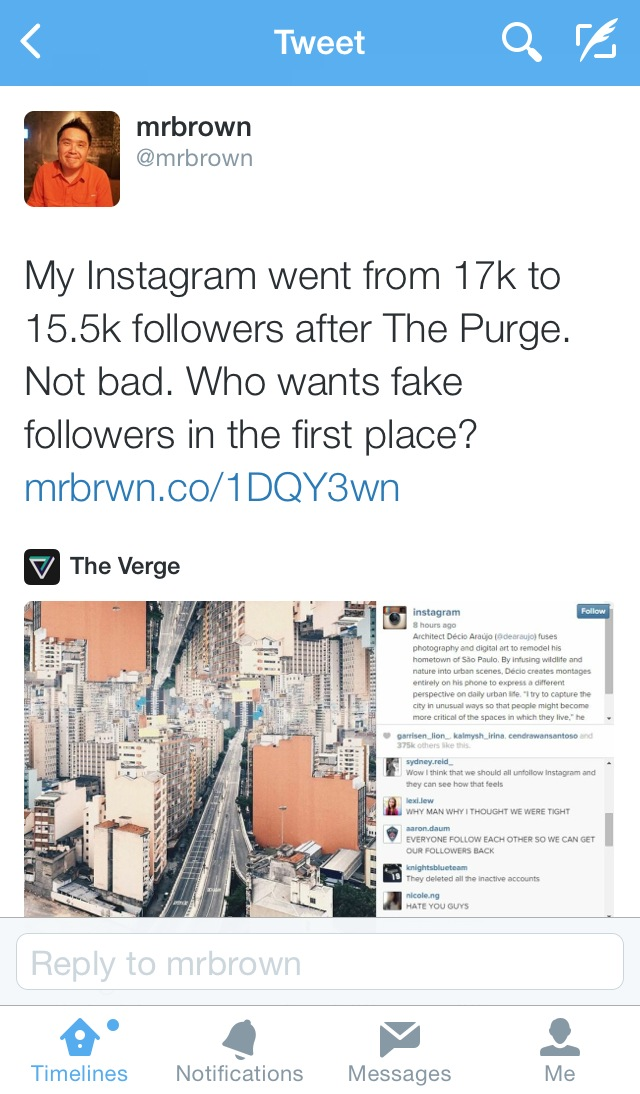 The Great Instagram Purge: Chaos, Currency, and