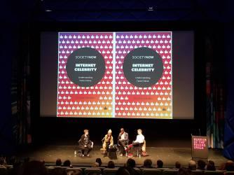 Keynote panel at Theorizing the Web, New York, April 2018.